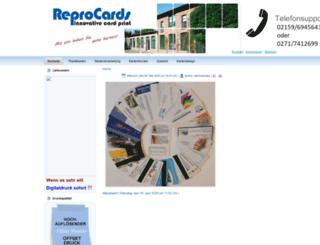 reprocards.de screenshot