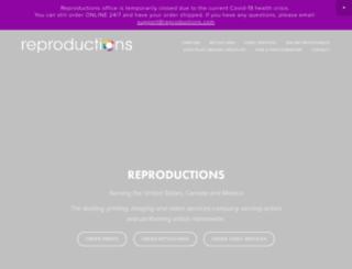 reproductions.com screenshot