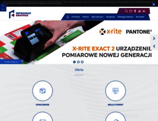 reprograf.com.pl screenshot
