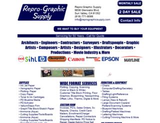 reprographicsupply.com screenshot