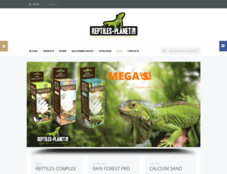 reptiles-planet.com screenshot