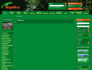 reptilica.com screenshot