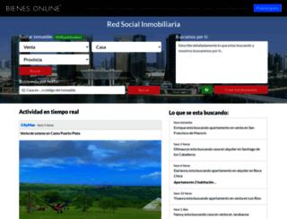 republica-dominicana.bienesonline.com screenshot