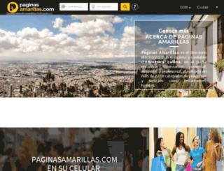 republica-dominicana.paginasamarillas.com screenshot