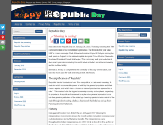 republicday-quotes.com screenshot