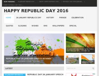republicdayquotess.com screenshot