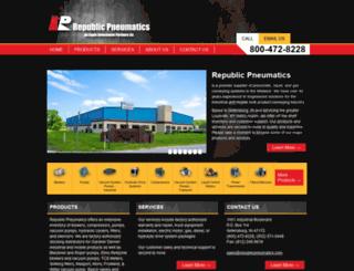 republicpneumatics.com screenshot