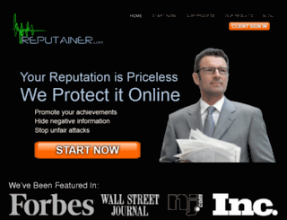 reputainer.com screenshot