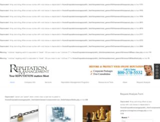 reputationmanagementllc.com screenshot