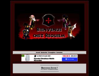 requiem-otomai.forumactif.fr screenshot