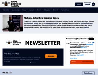 res.org.uk screenshot