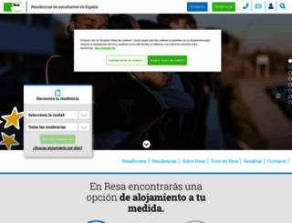 resa.es screenshot
