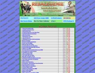 resalegenie.com screenshot