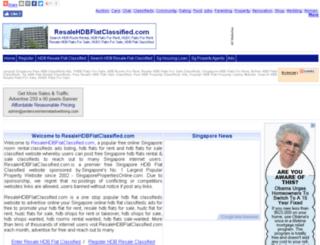 resalehdbflatclassified.com screenshot