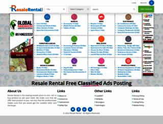 resalerental.com screenshot