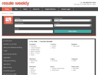 resaleweekly.com screenshot