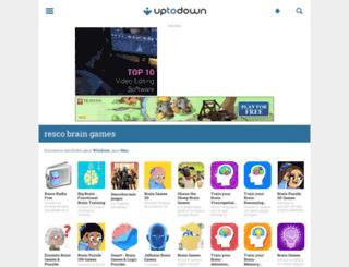 resco-brain-games.uptodown.com screenshot