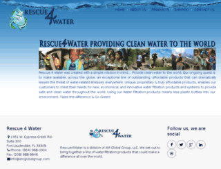 rescue4water.com screenshot