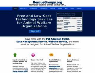 rescuegroups.org screenshot