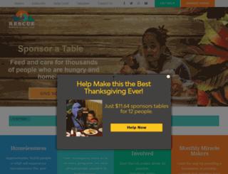 rescuesaltlake.org screenshot