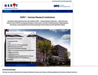 research-explorer.dfg.de screenshot