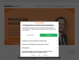 research.handelsblatt.com screenshot
