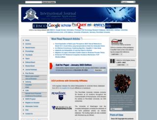 research.ijcaonline.org screenshot