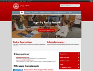 research.illinoisstate.edu screenshot