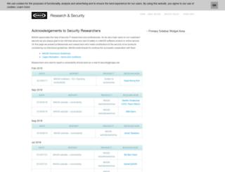 research.magix.com screenshot
