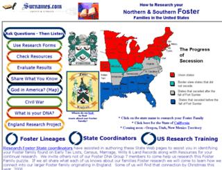 research.surnames.com screenshot