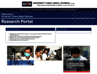 research.utar.edu.my screenshot