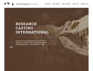 researchcasting.ca screenshot