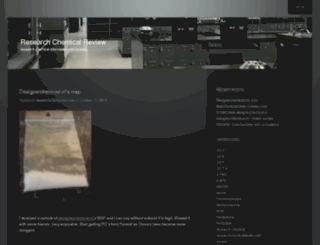 researchchemicalreview.wordpress.com screenshot