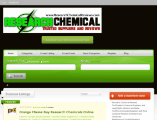 researchchemicalreviews.com screenshot