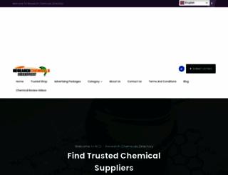 researchchemicalsdirectory.com screenshot