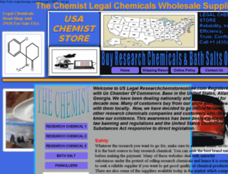 researchchemstoreonline.com screenshot