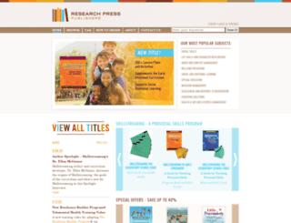 researchpress.com screenshot
