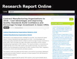 researchreportonline.wordpress.com screenshot