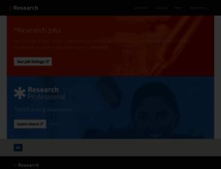researchresearch.com screenshot