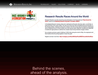researchresults.com screenshot