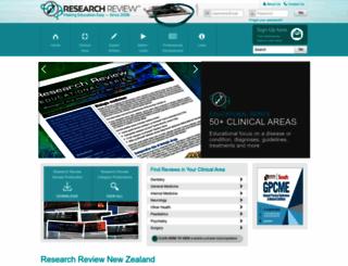 researchreview.co.nz screenshot