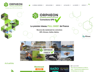 reseau-orpheon.fr screenshot