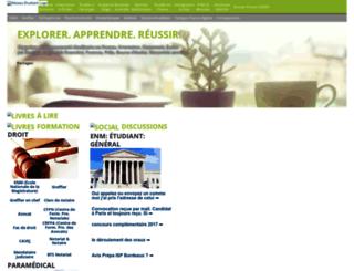 reseauetudiant.com screenshot