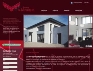 reseaulamosaique-annecy.com screenshot