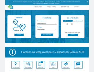 reseausub.fr screenshot