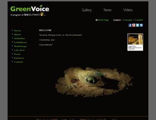 reseauvert.org screenshot