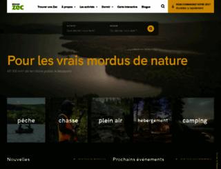 reseauzec.com screenshot