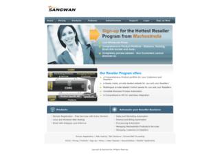 reseller.sangwan.com screenshot