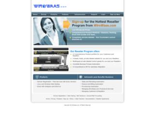 reseller.wirowaas.com screenshot