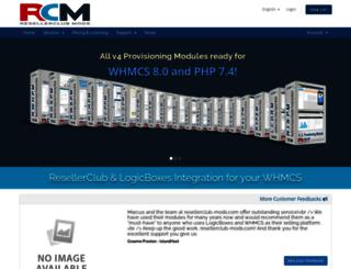resellerclub-mods.com screenshot